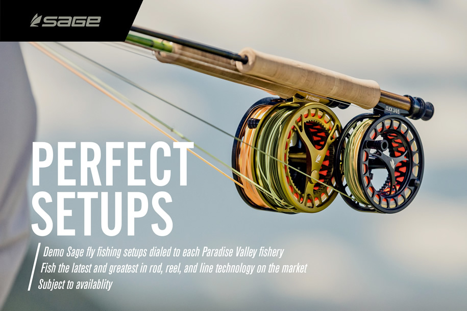 perfect setups for fly fishing