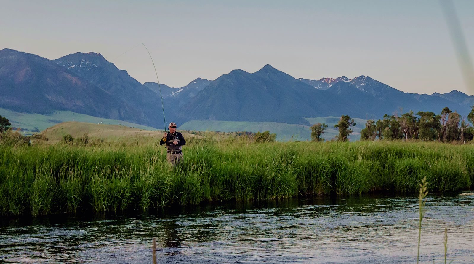 fly fishing in Paradise Valley